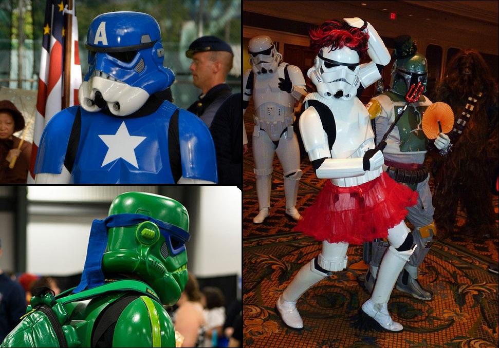 Top Disfraces Stormtrooper Cosplay ¡No te pierdas a los soldados imperiales  más originales! 4ef3ee9a72ad