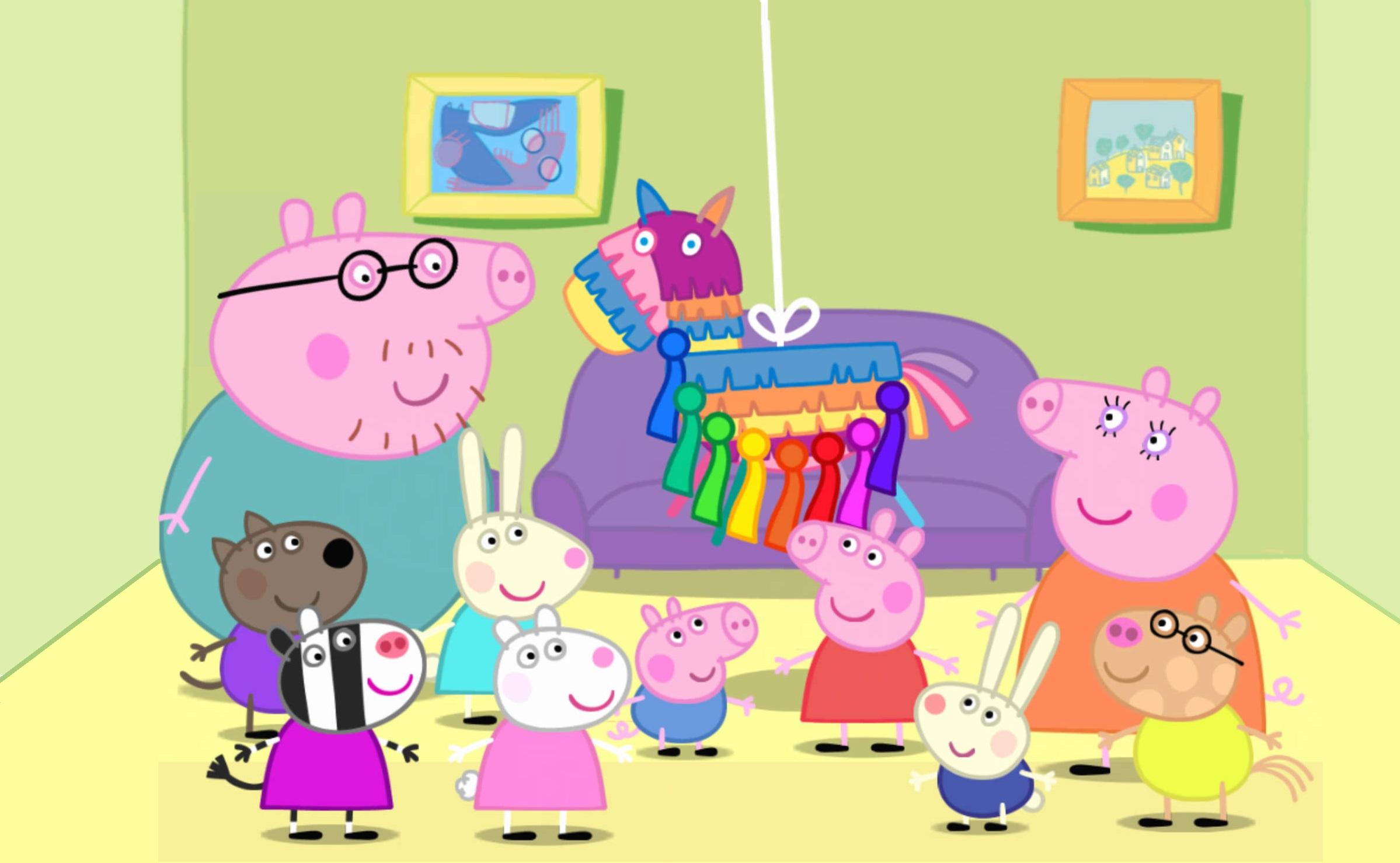 portada cumpleaños peppa pig